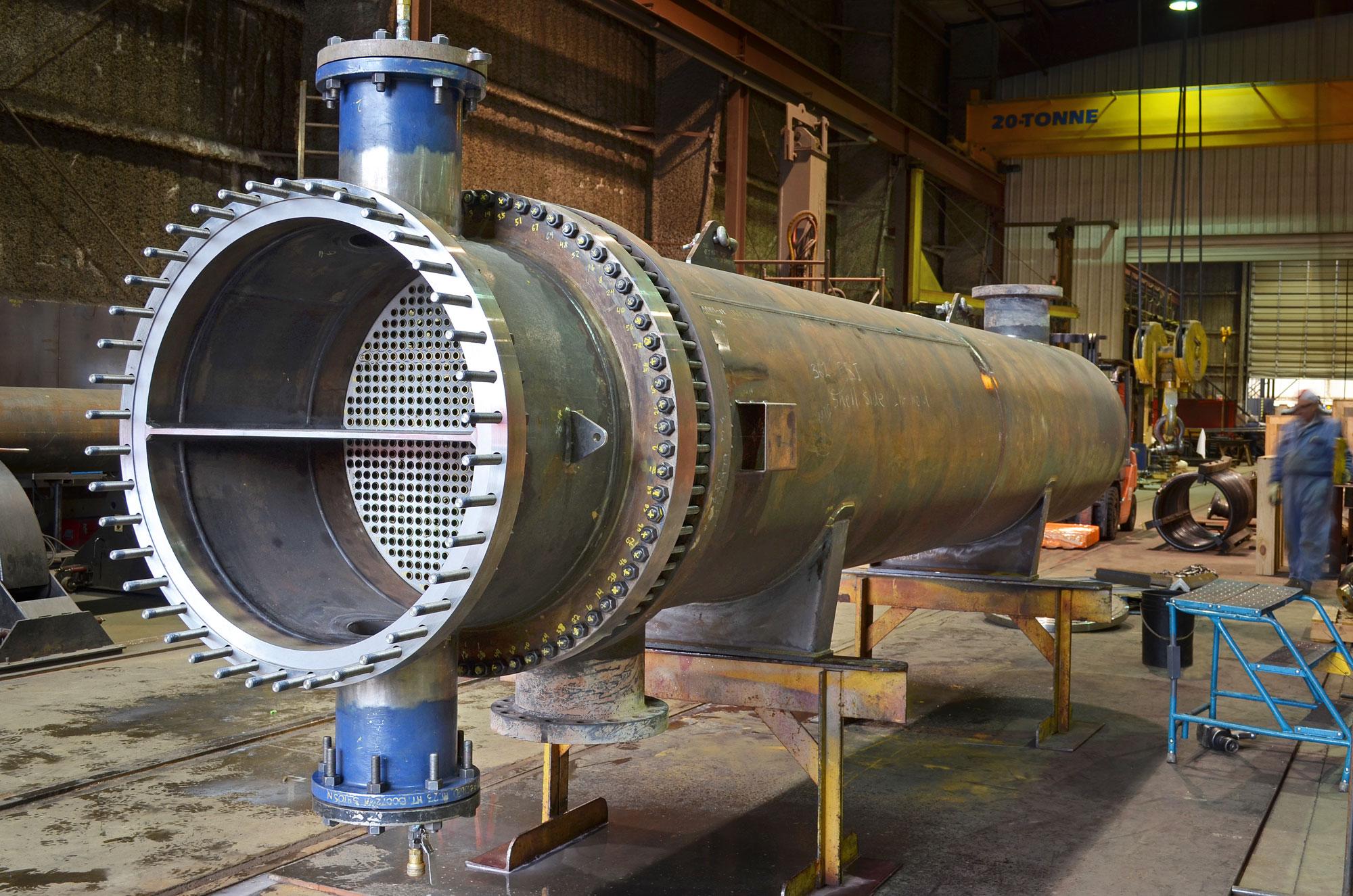 Heat Exchangers - Enermax Mountain Manufacturing Ltd.