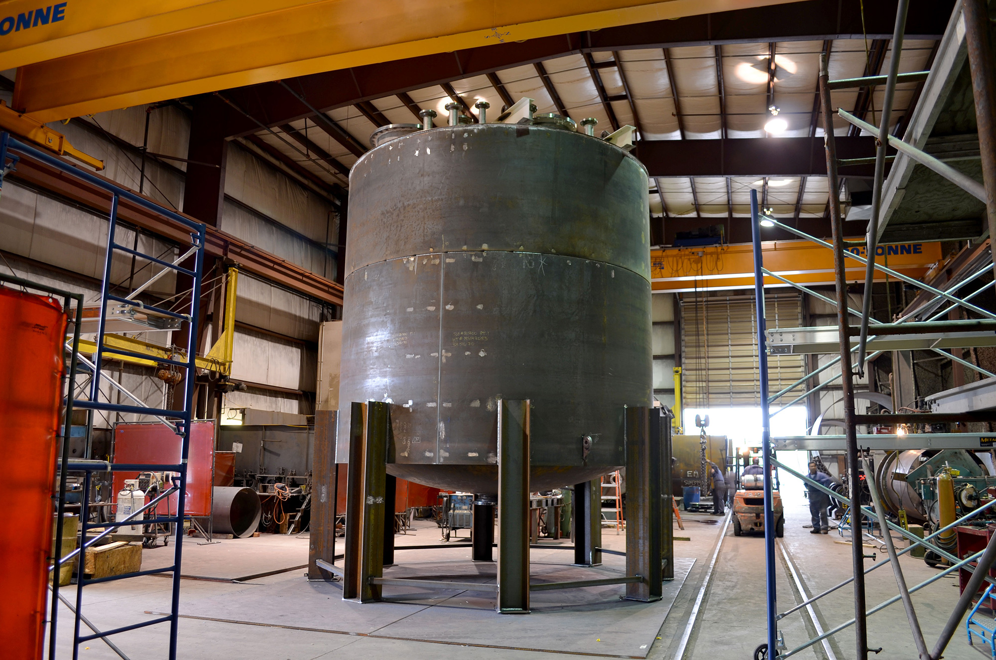 pressure tank fabricated by Enermax Mountain Manufacturing