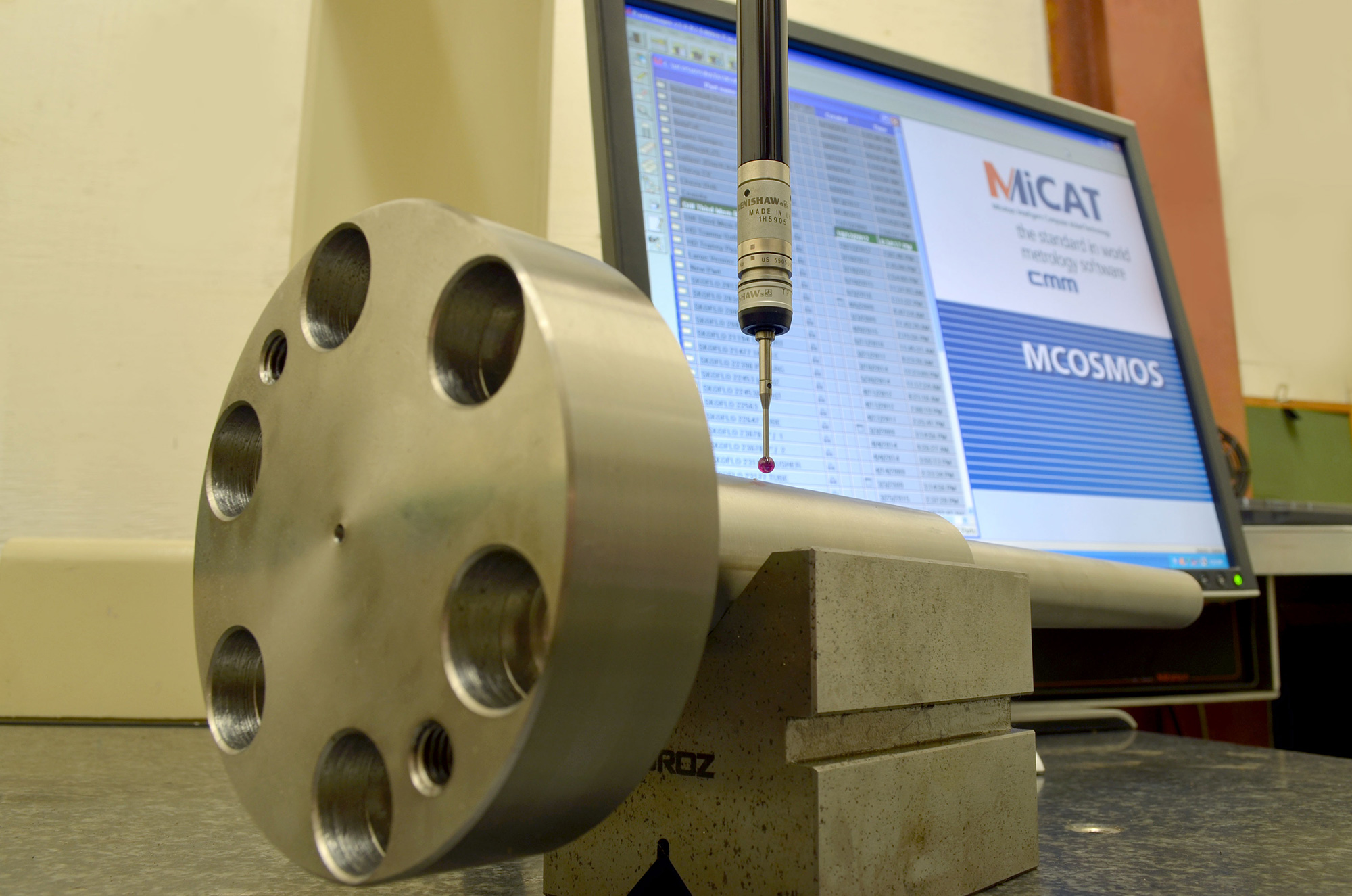 MiCAT precision measurement system used by Enermax Mountain Manufacturing