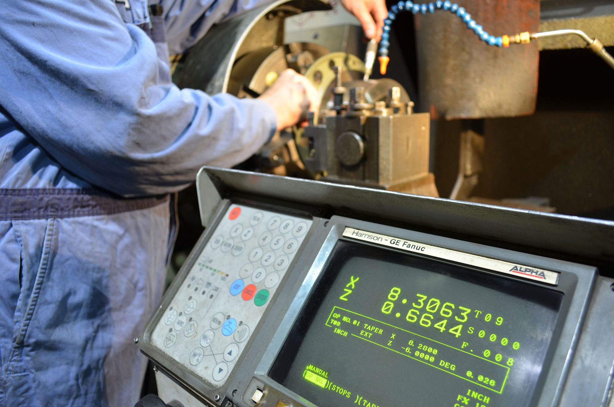 precision lathe controls used by Enermax Mountain Manufacturing